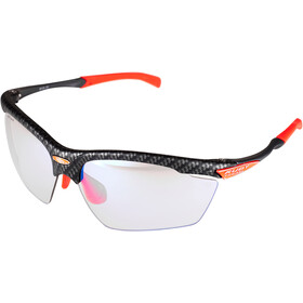 Rudy Project Agon Okulary rowerowe, carbonium - impactx photochromic 2 laser red